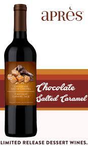 chocolate wine review apres chocolate salted caramel dessert wine
