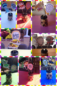 paw patrol centerpieces jars dollar tree scooby snacks
