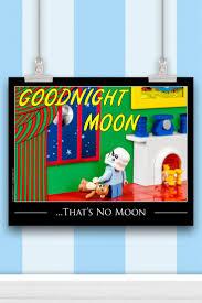 Star Wars Kids Room Decor by Star Wars Baby Nursery Decor U201cthat U0027s No Moon U201d Print Kids