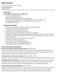 high school resume exles for college admission college application resume exles for high school seniors