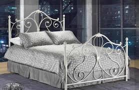 white metal bed frames interior design