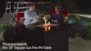 Pleasant Hearth Fire Pit - pleasant hearth rio 38