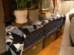 long table behind couch candresses interiors furniture ideas
