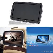 format video flashdisk untuk dvd player 10 1 inch external headrest monitor car dvd player support av in fm