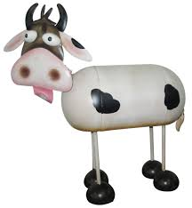 china metal cow as garden ornament nj15111 china metal cow