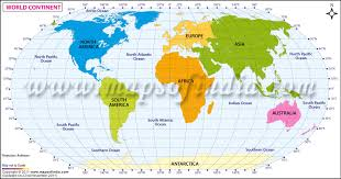 map continents world continent map continents of the world