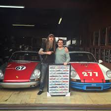 porsche poster magnuswalker911 25 pcs limited edition 50 year of 911 poster