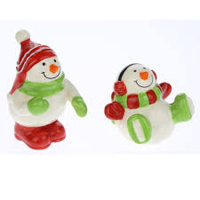 snowman salt and pepper shakers page two christmas wikii