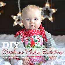 Christmas Photo Backdrops Make Diy Christmas Photo Backdrops With Twinkle Lights The Diy Mommy