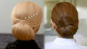 easy and quick hair bun tutorials video dailymotion