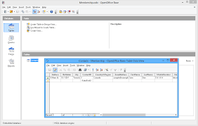 What Is Open Table Apache Openoffice Base