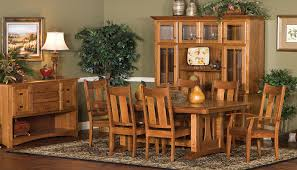 wooden dining room furniture custom amish furniture gallery