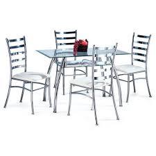 steel dining table set steel dining set buy in ahmedabad