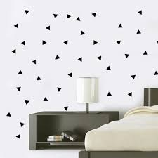 geometric wall decals roselawnlutheran aliexpress com buy geometric triangles wall stickers home decor bedroom diy wall decals vinyl