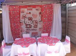 home decor party interior design simple hello kitty party theme decorations home