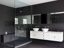 Black Modern Bathroom Bathroom Vanity Cabinets Small Space Makeup Vanity Bathroom Wall