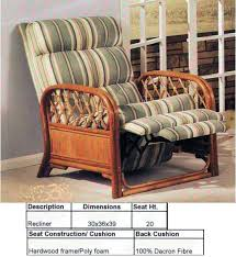recliners from heritage house