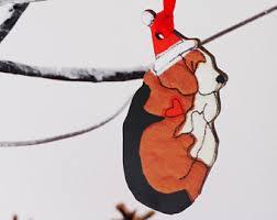 beagle ornament etsy