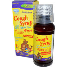 hyland u0027s cough syrup 4 kids with 100 natural honey 4 fl oz