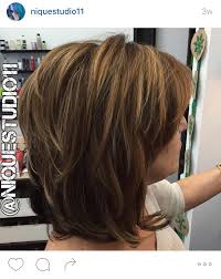 just above the shoulder haircuts with layers short layered medium length haircut lots of layers in this hair