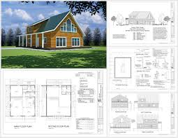 free sample cabin plan h235 1260 sq ft 1 bedroom 1 bath main 600 plan h235
