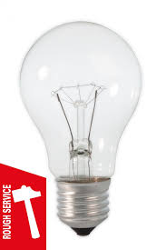 rough service light bulbs 790194 gls rough service l 220 240v 40 watt e27 clear