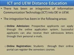 distance education in ghana ppt video online download