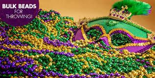 mardi gras necklaces mardi gras throws party city