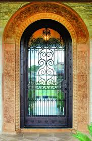 wrought iron doors florida and texas cantera doors