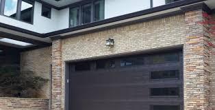 Overhead Door Windows Garage Doors Before After Atlanta Home Improvement