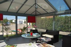 verre pour veranda véranda ou pièce a vivre avec toiture isolante et verre sma