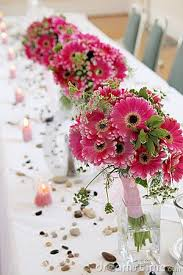 Vases For Bridesmaid Bouquets 47 Best Gebera Daisy Wedding Images On Pinterest Wedding Bridal