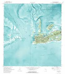 Map Of The Keys Florida by Key West Topographic Map Fl Usgs Topo Quad 24081e7
