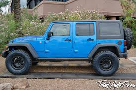 black aev jeep 2015 jeep rubicon hard rock in hydro blue 35x12 50r17 toyo open