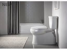 Kohler Cimarron Elongated Comfort Height Toilet K 5310 Cimarron Skirted Trapway Elongated Toilet Kohler