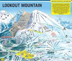Banff National Park Map Trail Map Sunshine Village