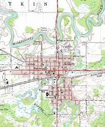 minnesota topographic map guide to aitkin minnesota