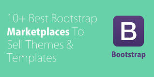 10 best bootstrap themes u0026 templates marketplaces to buy and sell