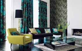 Modern Floral Curtain Panels 53 Living Rooms With Curtains And Drapes Eclectic Variety