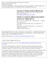 how to write position paper mun journal of global fashion marketing trends in research addressing journal of global fashion marketing trends in research addressing fashion and social responsibility pdf download available