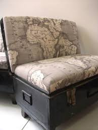 africa map fabric chair foter