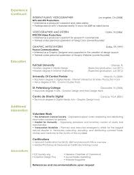 Videographer Resume Example by Resume Tips Digital Arts U0026 Design Graphic Design