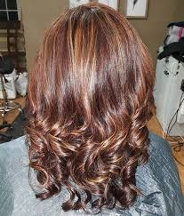 mahoganey hair with highlights 50 looks with caramel highlights on brown and dark brown hair