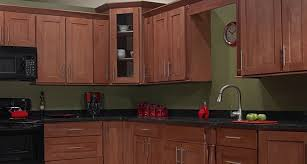Red Birch Kitchen Cabinets Fresno Medium Brown Glazed Maple Kitchen Cabinets Yelp