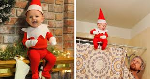 baby on the shelf of six turns his baby into adorable on the shelf bored panda
