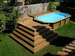 le piscine hors sol en bois 50 modèles archzine fr