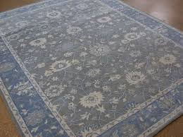 Pottery Barn Columbus Ohio Pottery Barn Mila Rug Gray 3x5 Persian Wool Authentic Floral Ebay