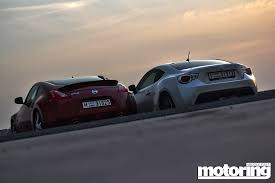 nissan 370z nismo modded twin test toyota 86 vs nissan 370z motoring middle east car