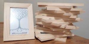 dipingere cornici unfinished solid wood photo frames ready to paint craft supplies