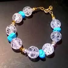 crystal quartz bracelet images Bracelet crystal quartz turquoise jpg